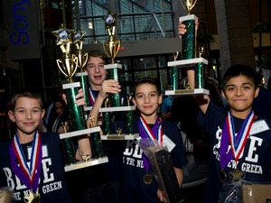 First Place Team from Islip Middle School