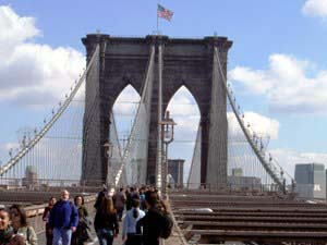 Brooklyn Bridge Pedestrian Promenade