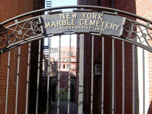 New York Marble Cemetery