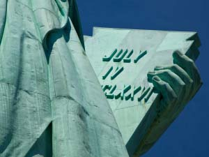 Statue of Liberty Tablet