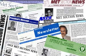 ASCE Met Section Newsletters